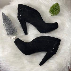 Guess black heel bootie (9)